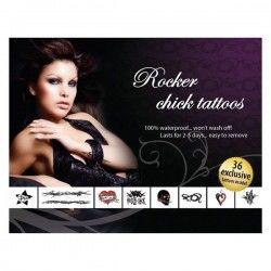 Rocker Chick Adult Body Art...
