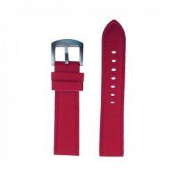 Watch Strap Bobroff BFS011 Red