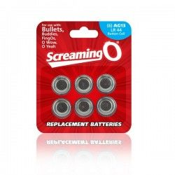 Pack of Batteries AG13 (6...