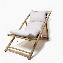 Sun-lounger Bamboo (136 X...