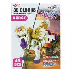 3D Puzzle Horse 113298 (45...