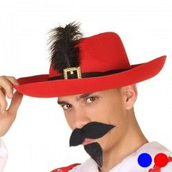 Hat Male musketeer Feather...