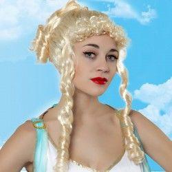 Wigs Wavy hair Platinum...