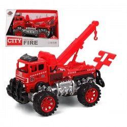 Crane Lorry City Fire...