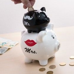 Mr & Mrs Piglets Money Box