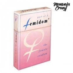 Femidom Female Condom 3 pcs...