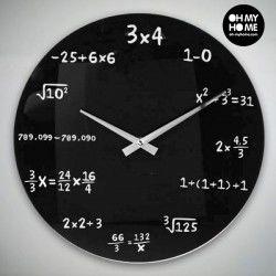 Maths Wall Clock