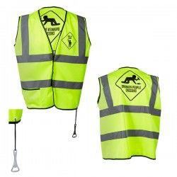 MEN Yellow Reflective Vest...