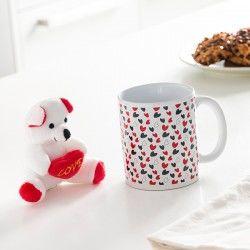 Love Mug with Hearts and...