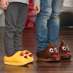Emoticons Children's Slippers