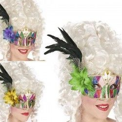 Feather Eye Mask Multicolour