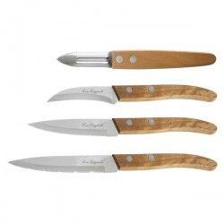 Knife Set Amefa Forest Wood...