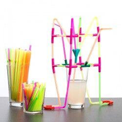 Playz Kidz Drinking Straws...