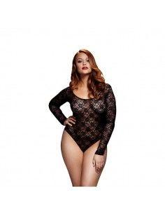 Black Lacy Bodysuit Back...