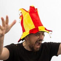 Spanish Flag Jester Hat...