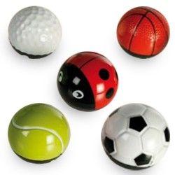 Ball & Bug Metal Ball with...
