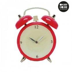 Alarm Clock Glass Wall Clock