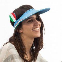 Italian Flag Visor